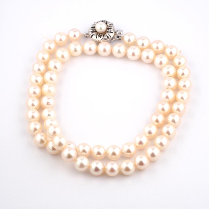 静岡きたがわ宝石のジュエリー修理 真珠糸換え