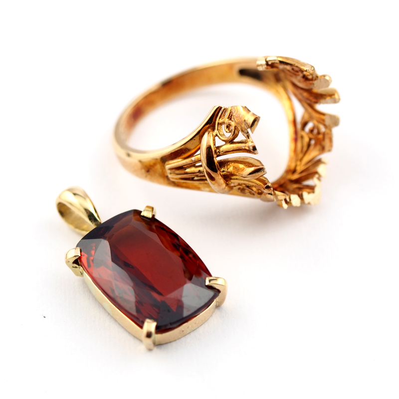 静岡きたがわ宝石のジュエリーリフォーム 指輪からペンダントへ