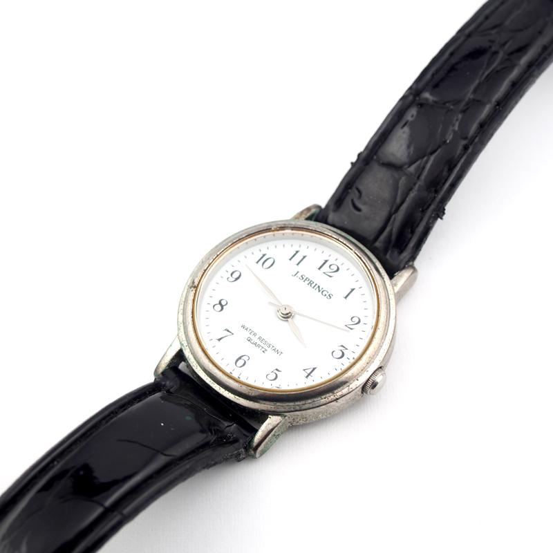 静岡きたがわ宝石の時計修理 J-SPRINGの電池交換