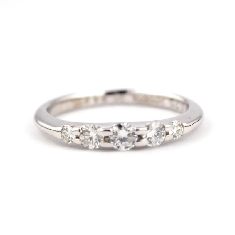 静岡きたがわ宝石のジュエリー修理 ダイヤモンドの指輪のサイズ直し