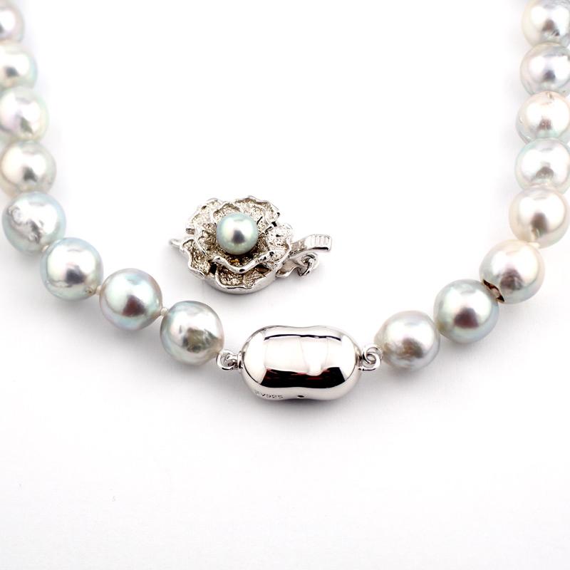 静岡きたがわ宝石のジュエリー修理 真珠の糸換えとクラスプ交換