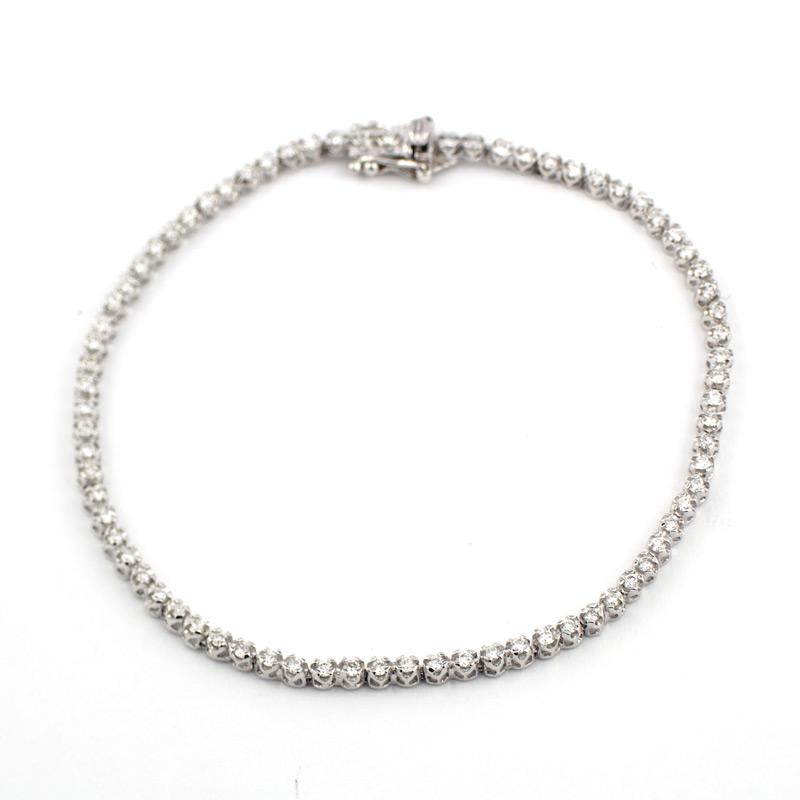 静岡きたがわ宝石のジュエリー修理 ダイヤモンドブレスの切れ直し