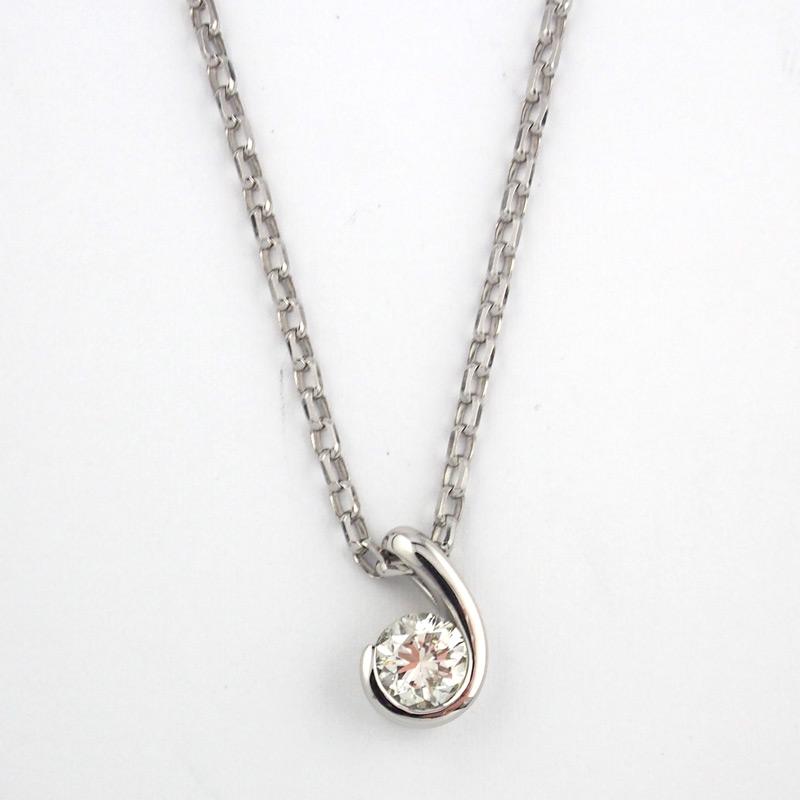 静岡きたがわ宝石のジュエリーリフォーム 婚約指輪をペンダントに