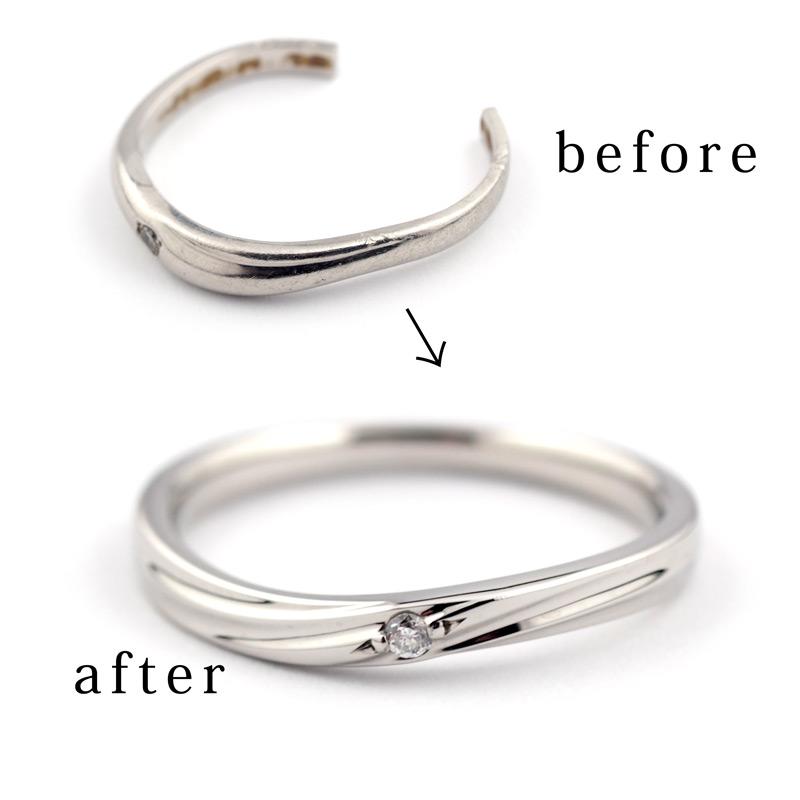 静岡きたがわ宝石のジュエリー修理 外れなくなった指輪の切断
