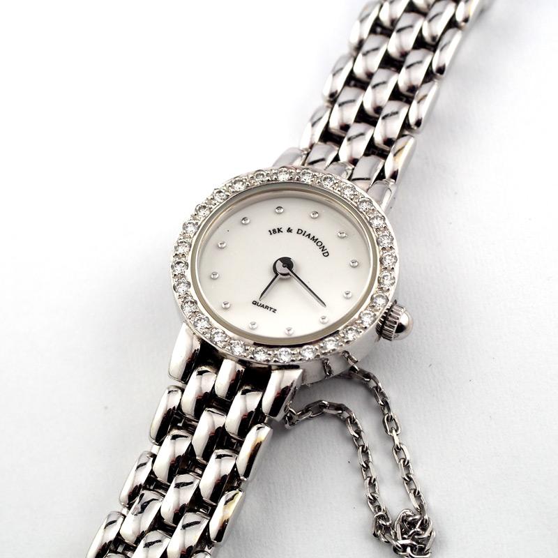 静岡きたがわ宝石の時計修理 金無垢腕時計の電池交換