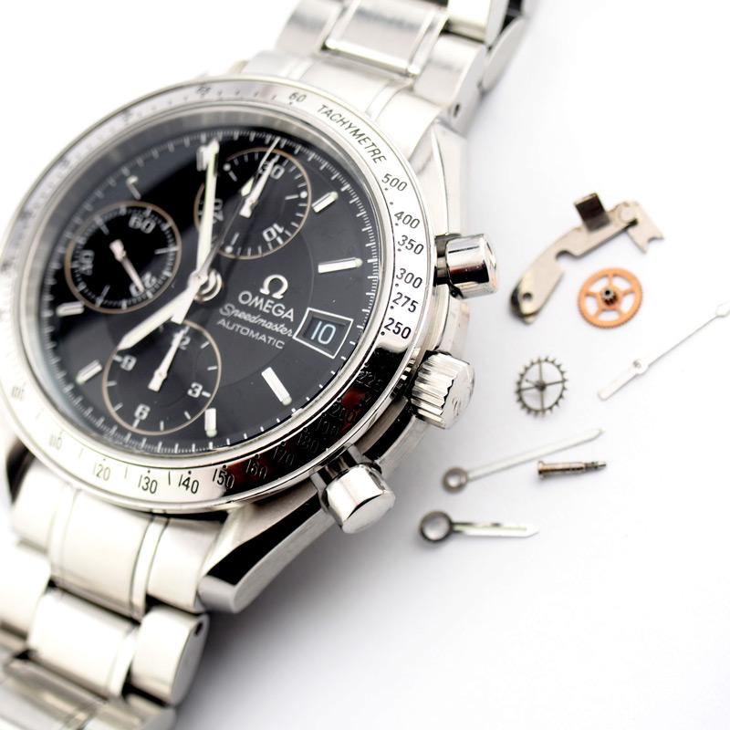 静岡きたがわ宝石の時計修理 オメガスピードマスターのオーバーホール