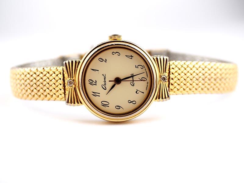 静岡きたがわ宝石の時計修理 ORIENTの電池交換