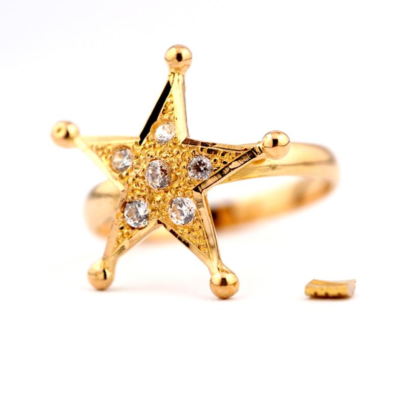 静岡きたがわ宝石のジュエリー修理 ゴールドの指輪のサイズ直し