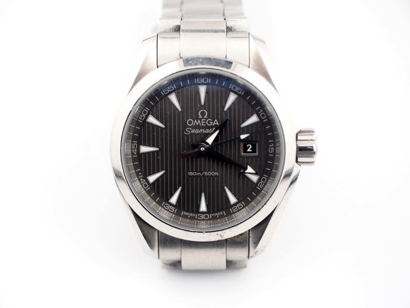 静岡きたがわ宝石の時計修理 オメガスシ―マスターの電池交換