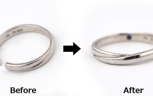 外れなくなった指輪の修理