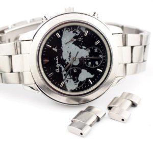 アニエスベー腕時計のバンド調節