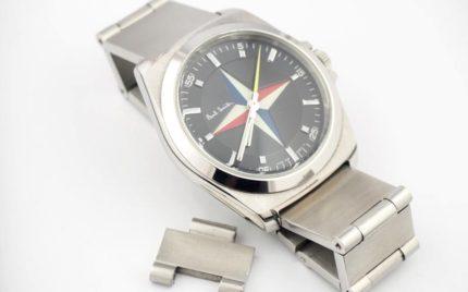 ポールスミス腕時計のベルト調節