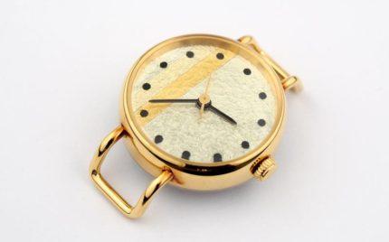kanazawa金箔腕時計の電池交換