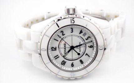 シャネルJ12腕時計の分解掃除オーバーホール