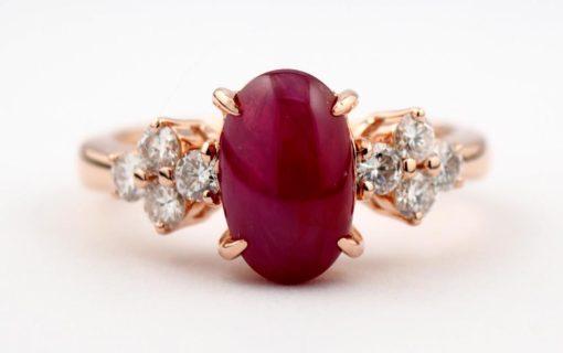ルビーの指輪のジュエリーリフォーム