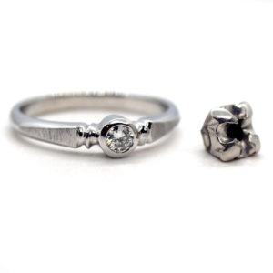 指輪のジュエリーリフォーム