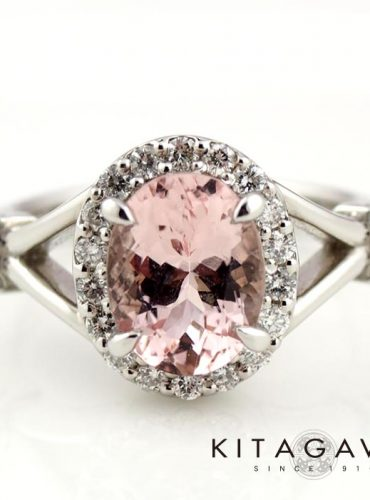 静岡きたがわ宝石のモルガナイトの指輪