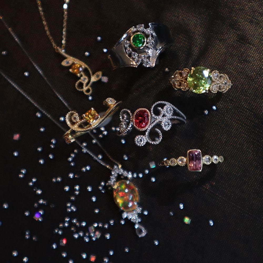 世界の美しい宝石展