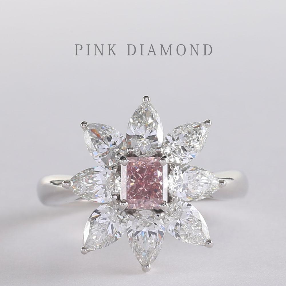 高級ジュエリーエデル ピンクダイヤモンド